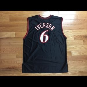 72ee8533323 Champion Other   Authentic Allen Iverson Sixers Jersey   Poshmark